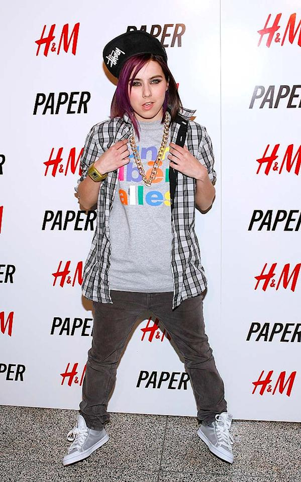 "I don't expect to see Lady Sovereign in a gorgeous gown anytime soon, but perhaps she should have considered wearing something other than this mess to Paper magazine's annual ""Beautiful People Party."" Mark Von Holden/<a href=""http://www.wireimage.com"" target=""new"">WireImage.com</a> - April 9, 2009"