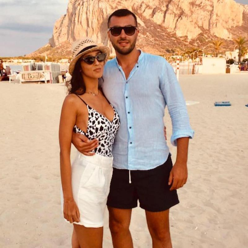 The victim, Italian doctor Lorena Quaranta, and her then boyfriend Antonio De Pace, who allegedly strangled her to death. (Newsflash)