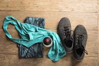 <p>The process for planning your 'fit is three-fold: you'll want to plan what workout you're going to do, when you're going to do it, and what you're going to wear. If you need to pack a workout bag, do it the night before, and if you plan to workout in the morning, lay out your clothes before bed.</p> <p>This method is tried and true. In preschool, I would pick out my clothes the night before because it meant I could sleep in, I wouldn't waste time, and by the time I was awake enough to whine about school, the opportunity was gone because I was already there.</p>