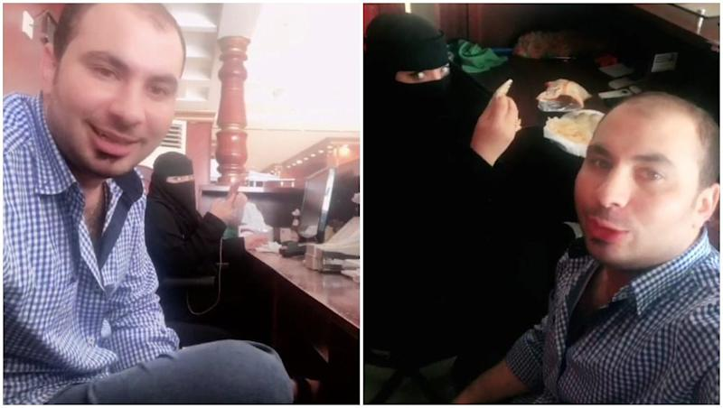 Man in Saudi Arabia Arrested After His Video of Having Breakfast With Woman Goes Viral
