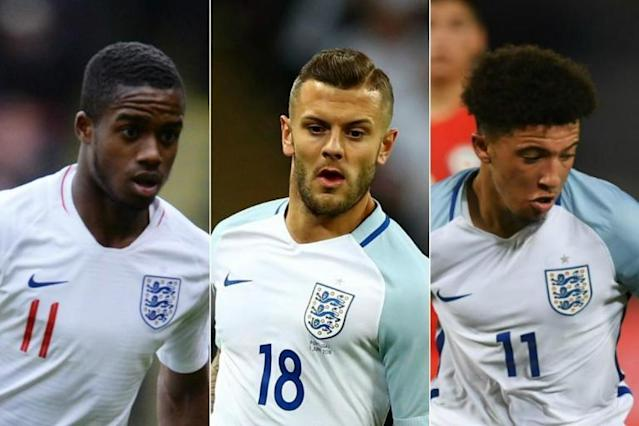 Jack Wilshere, Ryan Sessegnon & Jadon Sancho IN as Standard Sport picks England's World Cup squad