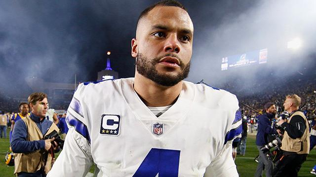 NFL Network's Jane Slater reports the latest surrounding upcoming Dallas Cowboys quarterback Dak Prescott, wide receiver Amari Cooper, and running back Ezekiel Elliott's contract extensions.