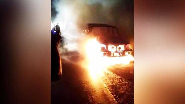 Woman Burnt Alive in Andhra Pradesh as Car Catches Fire on Highway