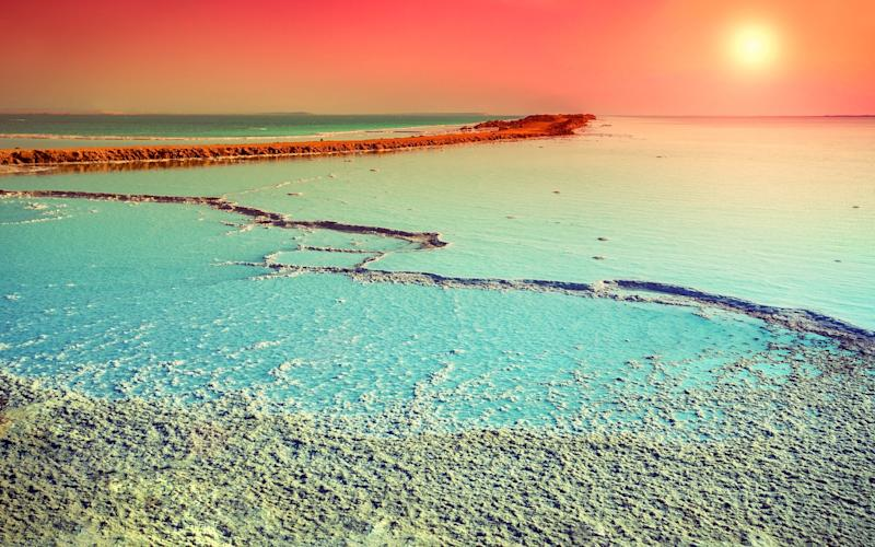 Visitors to Israel can choose from a variety of beaches beyond the Dead Sea (pictured) along its Mediterranean coast - ©vvvita - stock.adobe.com