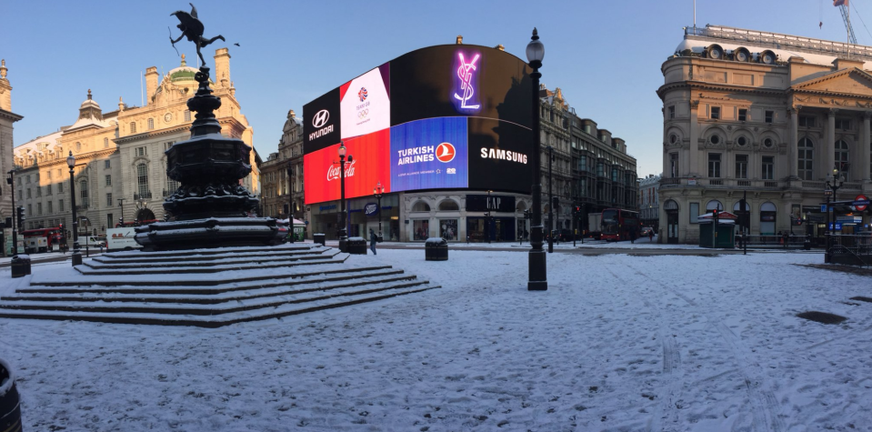 <p>Public transport around London has faced disruptions and cancellations across the Tubes and bus services. (Chris Parsons/Yahoo News UK) </p>