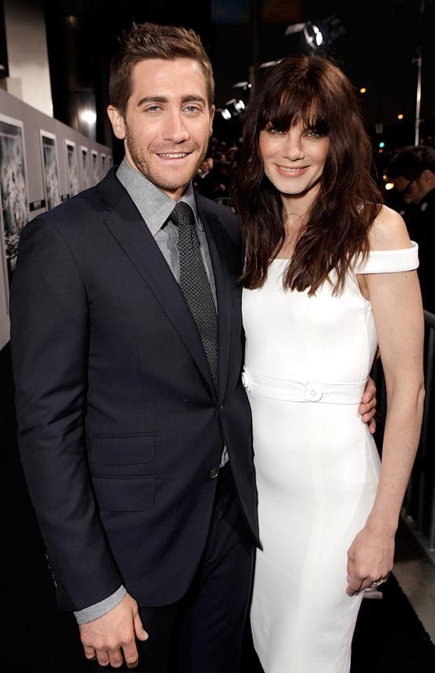 "<a href=""http://movies.yahoo.com/movie/contributor/1800019221"">Jake Gyllenhaal</a> and <a href=""http://movies.yahoo.com/movie/contributor/1804504037"">Michelle Monaghan</a> attend the Los Angeles premiere of <a href=""http://movies.yahoo.com/movie/1810150340/info"">Source Code</a> on March 28, 2011."