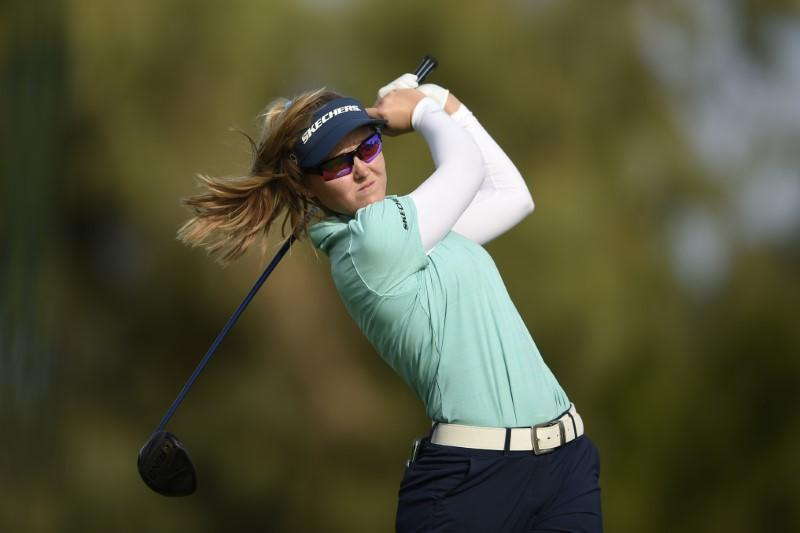 Korda grabs lead in ANA Inspiration first round