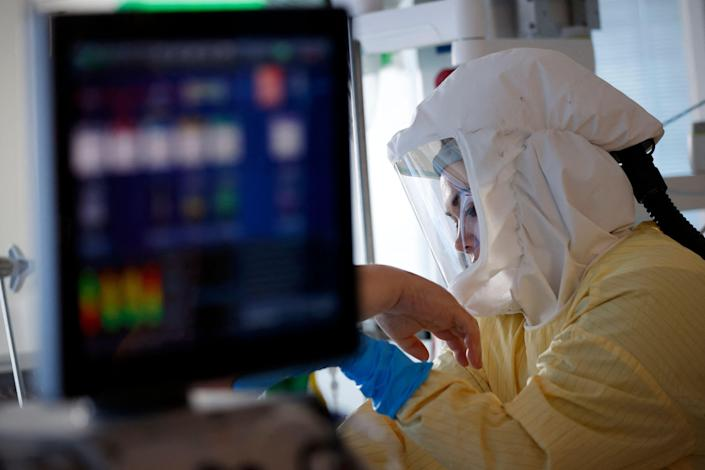 Children have been cared for in the ICU. (AFP via Getty Images)