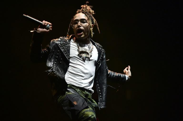 Lil Pump, shown performing in 2018, is among the most mainstream successful SoundCloud artist, having signed a record deal reportedly worth $8 million (AFP Photo/Theo Wargo)