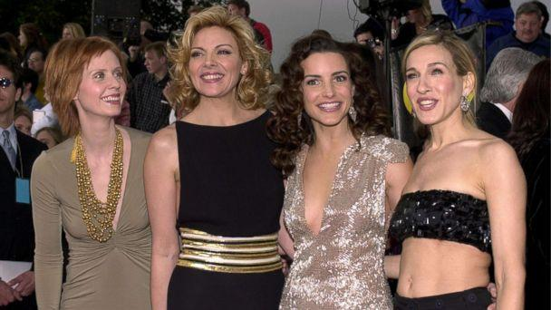 PHOTO: Cynthia Nixon, Kim Cattrall, Kristin Davis and Sarah Jessica Parker attend the 7th Annual Screen Actors Guild Awards, March 11, 2001, at the Shrine Auditorium in Los Angeles. (Chris Weeks/Getty Images)