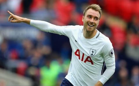 "In 2012 Roma wanted to sign Christian Eriksen but, with two years left on his contract at Ajax, the deal was too expensive for a player who would not go straight into the first team and so the following year he joined Tottenham Hotspur for a reduced price. There was nothing unusual in that, all the top teams had looked at Eriksen, but what was remarkable is precisely why Roma wanted him. They had identified him as the natural successor to their greatest ever player: Francesco Totti. It showed just how highly he was rated and the potential he has. Totti was also one of Eriksen's football heroes. Now that potential is being fulfilled – spectacularly – and Eriksen is being talked about in the most accomplished of current company. ""Of course [Kevin] De Bruyne is amazing and I love [David] Silva but Eriksen is the same, the same,"" says Martin Jol, the man who gave the Dane his debut at Ajax, aged just 17, and who also has strong links to Spurs, who he also managed. But Jol is not the only one who makes the connection between Eriksen and Manchester City's two star midfield playmakers. Mauricio Pochettino also brackets them together.""For me, you can compare him with special players like De Bruyne or David Silva,"" the Spurs manager says. ""This type of player who is capable to play football, and run, and fight. That is a massive, massive value to have a player like Christian on the team."" Eriksen has been hugely impressive this season Credit: Getty Images Jol goes even further. ""If I was at another club, even at Barcelona, even at Real Madrid – you know [Andres] Iniesta? Eriksen will score more goals than Iniesta,"" the Dutchman says. ""Five years ago I think Iniesta was the best player in the world and Eriksen is probably as good or better because to play for Barcelona is probably easier than to play at Tottenham where they develop all these youngsters. ""Maybe I am exaggerating a bit. But I think that, of course, he's already a £100 million player – like De Bruyne. And If I was the manager of one of the biggest clubs, like Bayern Munich, I would try and sign him. But, for me, I hope he stays at Spurs because I think there is more to come and every time you see him, it's a joy to watch him."" The figure of £100million is probably no exaggeration. Scouts around Europe are comparing Eriksen's value to that of Philippe Coutinho, for whom Barcelona paid £142 million in January. With two years left on his contract Spurs may have a fight to keep Eriksen, especially if he excels with Denmark at this summer's World Cup. Ahead of the FA Cup semi-final against Manchester United at Wembley there are recurrent themes when it comes to discussing Eriksen. The 26-year-old has a prodigious appetite for work and self-improvement. Even as a teenager at Ajax he employed a personal trainer to work with him two days a week with the specific aim of making him the fittest player at the club. Tottenham are failing their fans with season ticket prices at the new stadium At Spurs, who he joined for £11.5 million, he has been a willing pupil under Pochettino and at the training ground staff speak of his desire to listen and learn and harness his extraordinary talent with a tough mentality to succeed. He has also bought in to Pochettino's demands for hard work and a disciplined approach – in and, crucially, out of possession. Adding consistency and reliability to his talent, something he realised he had to do after that first season with Pochettino, was the game-changer. Until then he was told he was too ""intermittent"". The scouting reports on Eriksen were unanimous. One scout told The Daily Telegraph: ""Technically he was excellent. He saw passes between the lines and that is not common and he had this remarkable right-foot. Quite incredible. He was also a very modern player in the sense that he was technically gifted and dynamic. But there was also a lot of room for improvement and that was exciting. ""For a player like him to be in possession is quite easy. The game comes easy. What needed to follow was how he operated out of possession and how he developed physically."" It is a theme that Pochettino picks up on. ""I think in the four seasons that he's been playing for us, he has improved in every season,"" he explains. ""More mature, more experienced. He was so young when I arrived here. Of course now he's a more mature player. That is one of the things that is easy to recognise and to give him the credit."" Eriksen could have been at Barcelona already, having had trials there as well as with AC Milan and Chelsea before he was advised by Jol's friend and Chelsea's former sporting director Frank Arnesen to join the fellow Dane's former club, Ajax, aged just 16. Tottenham's new stadium in pictures ""He is an unbelievable talent,"" Jol states when asked what his first recollections of Eriksen were. ""There are a few talents you work with but he is a born footballer. Like [Wesley] Sneijder, [Rafael] Van der Vaart, Silva. These No 10 players who are born players. He was a born player. Everybody saw that so I thought it's probably better to give him his debut. ""The thing with him is he was dedicated. When he was 17 he was almost the same as he is now, an old-fashioned play-maker, although there is one big difference in the way he has developed himself into an overall midfield player. He goes for the ball, then he's on the right, then he's on the left. He's feeding Harry Kane and Harry Kane knows that. If Christian does not play, Spurs have a problem. There are so many passes, so many assists for [Dele] Alli and for Kane. ""He is probably one of the few real playmakers in Europe now. In the concept of Pochettino he plays on the left, sometimes on the right, but he drifts in and you will see that again on Saturday in the semi-final and nobody has got an answer to that."" Pochettino refers to Eriksen as ""Golazo"", a Spanish term that translates as ""screamer"" as in a screaming goal. Eriksen scores them in training, often from free-kicks, and Jol says that more goals is the only thing the player lacks. ""It is almost unimaginable that he can play better,"" he says. ""Maybe he could score 15-20 goals, he's got 10 so far this season, because he's got a very good shot. And the thing with him is he's right and left-footed. ""He does not hesitate. He's one of the most influential players in Europe at this moment."""