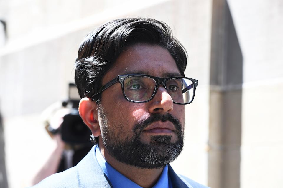 Kulwinder Singh leaves the NSW Supreme Court in Sydney, in October, 2019. Source: AAP
