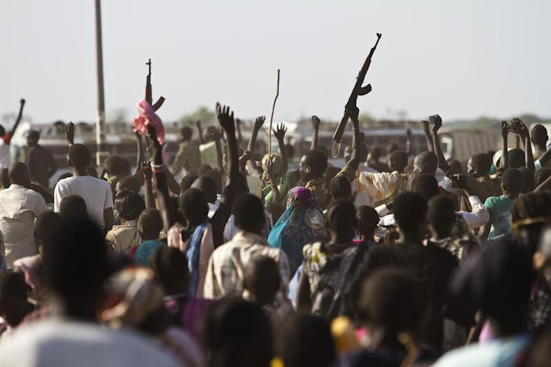 Almost two million have fled the fighting between South Sudanese troops, mutinous soldiers and tribal militia forces