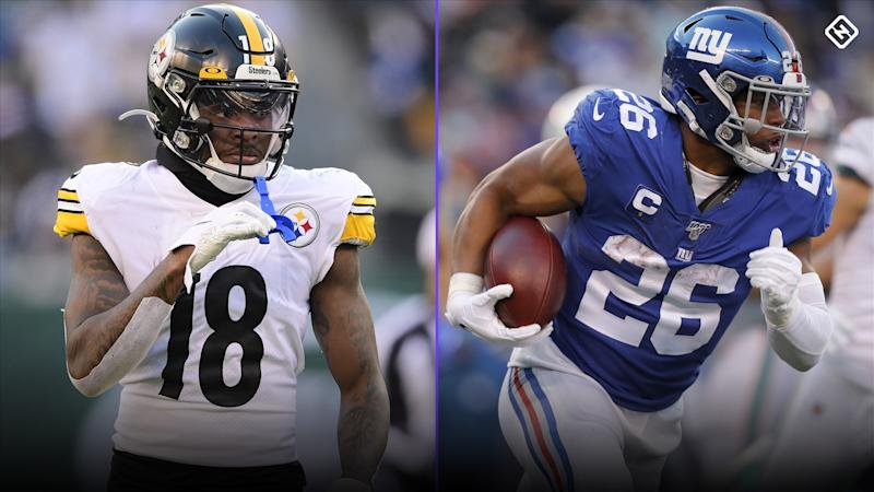 DraftKings Week 1 Monday Night Showdown: Picks, advice for Steelers vs. Giants NFL DFS