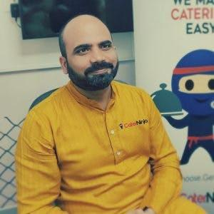 caterer aggregator CaterNinja founder