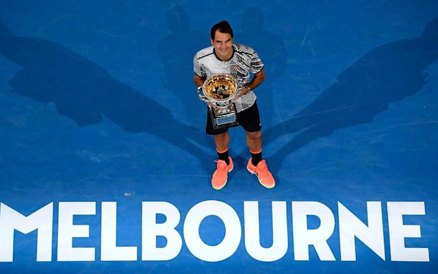 Roger Federer will defend his Australian Open title in Melbourne - AP