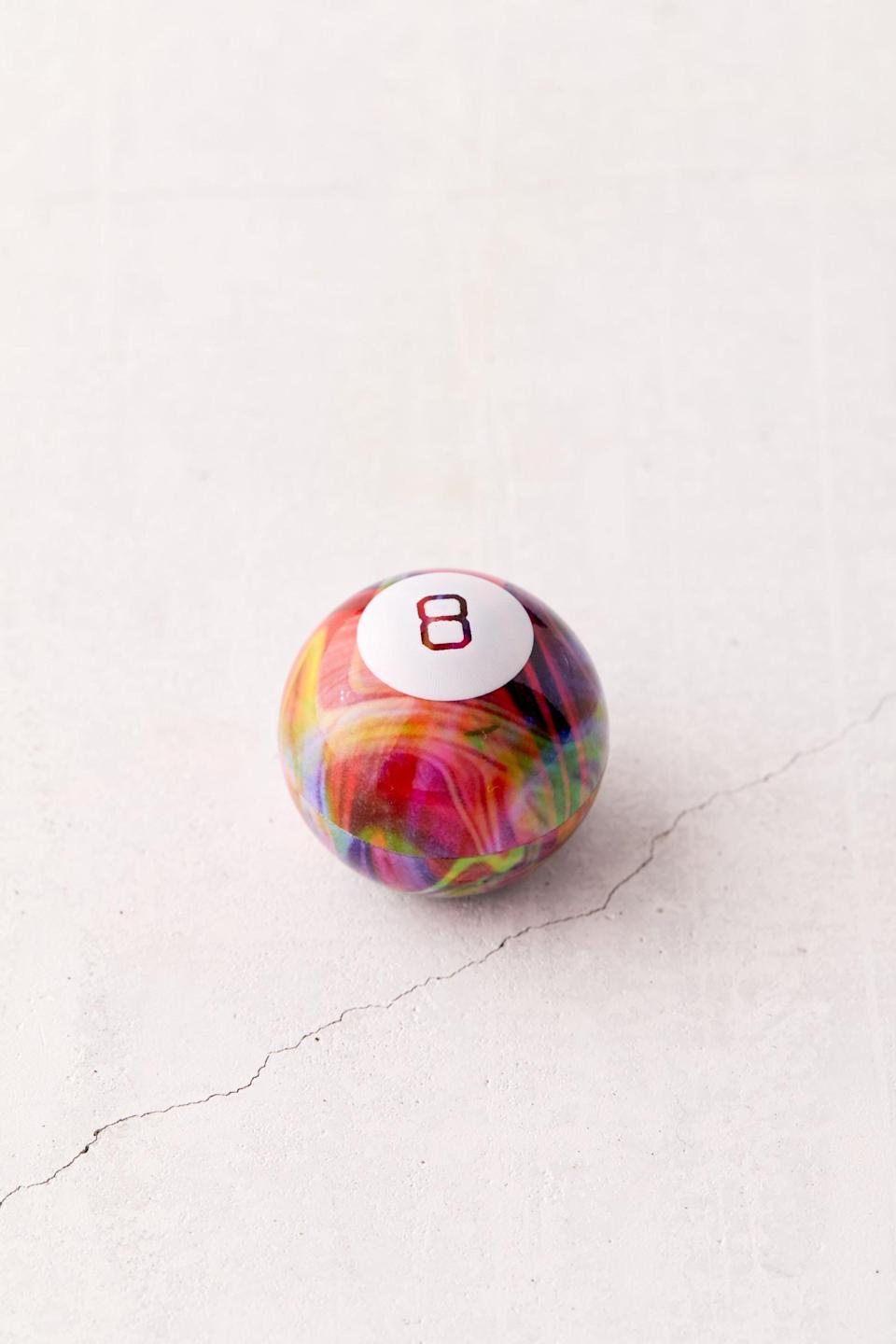 <p>This <span>World's Smallest UO Exclusive Tie-Dye Magic 8 Ball</span> ($8) will bring back the days of vague fortune telling. </p>