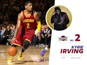 """<p>Cavs' point guard Kyrie Irving has more shoes than you have — or anyone else on this planet has. He not only has his very own style <a href=""""http://store.nike.com/us/en_us/pw/kyrie-irving-shoes/muoZoi3?cp=usns_kw__txt!g!c!br!e!kyrie%20irving%20shoes&k_clickid=6476c20a-dae7-4e13-ab01-8e69f6633a21"""" rel=""""nofollow noopener"""" target=""""_blank"""" data-ylk=""""slk:Nike basketball shoe"""" class=""""link rapid-noclick-resp"""">Nike basketball shoe</a> but also has just a million other brightly colored sneakers (which can be seen on his <a href=""""https://www.instagram.com/kyrieirving/?hl=en"""" rel=""""nofollow noopener"""" target=""""_blank"""" data-ylk=""""slk:Instagram"""" class=""""link rapid-noclick-resp"""">Instagram</a> account). Perhaps his flashiest shoes are a <a href=""""https://www.instagram.com/p/xakEijshLR/?hl=en"""" rel=""""nofollow noopener"""" target=""""_blank"""" data-ylk=""""slk:pair of golden dunks"""" class=""""link rapid-noclick-resp"""">pair of golden dunks</a>. Those can't be cheap… <i>Photo: Getty Images / Instagram.com</i></p>"""