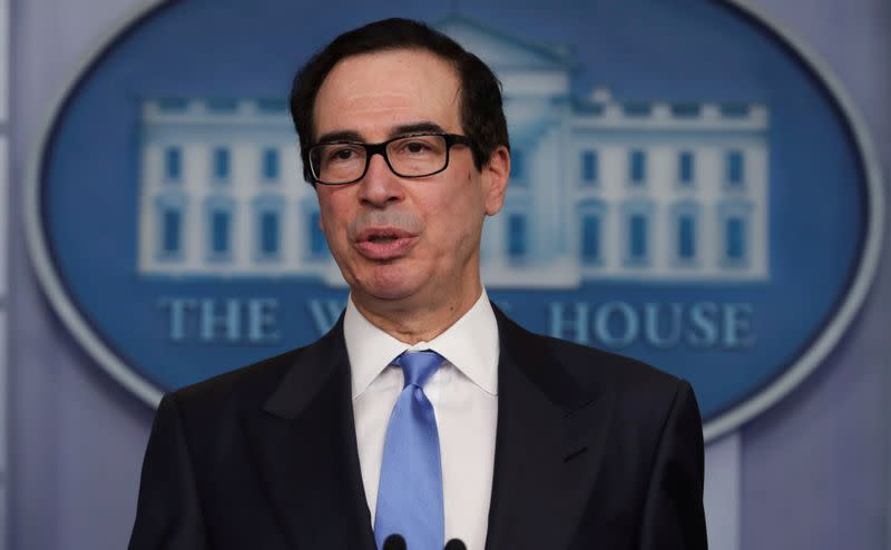 U.S. could store another 'several hundred million' barrels of oil - Mnuchin
