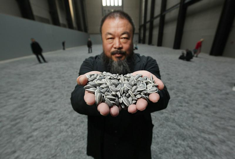 Chinese Artist Ai Weiwei Unveils This Year's Unilever Installation At The Tate Modern