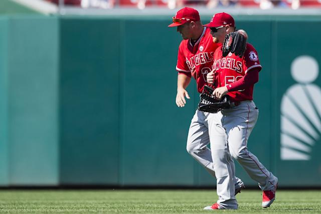 The Los Angeles Angels have jumped up in the standings and our Power Rankings. (Getty Images)