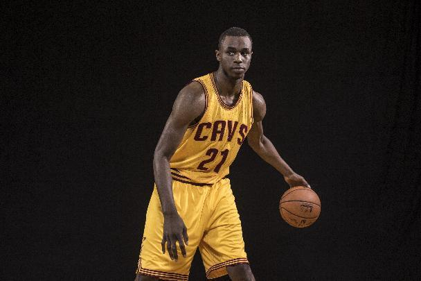 FILE - AUGUST 22, 2014: According to sources, the Minnesota Timberwolves will acquire Thaddeus Young from the Philadelphia 76ers in a deal that will send Kevin Love to the Cleveland Cavaliers in exchange for first overall pick Andrew Wiggins. TARRYTOWN, NY - AUGUST 03: Andrew Wiggins #21 of the Cleveland Cavaliers poses for a portrait during the 2014 NBA rookie photo shoot at MSG Training Center on August 3, 2014 in Tarrytown, New York. (Photo by Nick Laham/Getty Images)