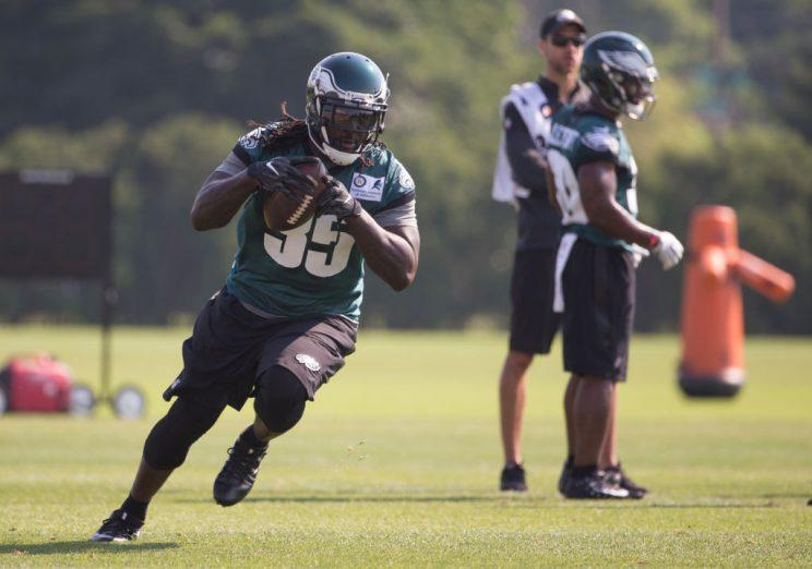 LeGarrette Blount figures to serve as Philly's primary early-down runner.