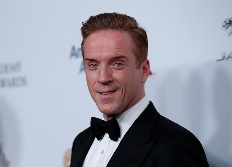 2018 British Academy Britannia Awards - Arrivals - Beverly Hills, California, U.S., October 26, 2018 - Damian Lewis poses REUTERS/Mario Anzuoni