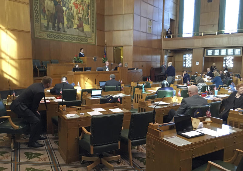 Oregon House OKs health care as a right, funding questioned