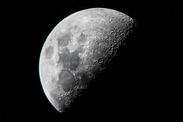<p>Representative: Russia and China on 9 March 2021 signed a memorandum of understanding for the joint construction of a lunar space station</p> (AFP)