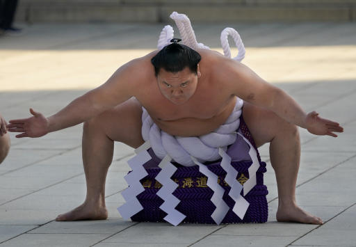 Sumo wrestling coming -- sort of -- to the Tokyo Olympics