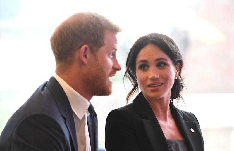 Meghan Markle, Prince Harry holding private christening for Archie this weekend