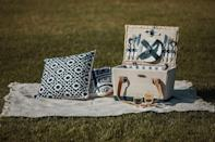 <p>This <span>Picnic Time Basket</span> ($81) will add a touch of luxe to your party accessories.</p>