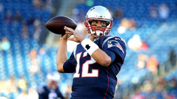 PHOTO: Tom Brady of the New England Patriots warms up for a preseason game against the Green Bay Packers, Aug. 13, 2015 in Foxboro, Mass. (Maddie Meyer/Getty Images)