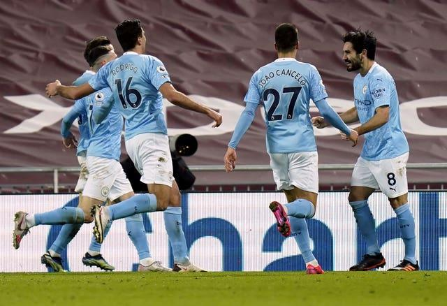 Manchester City won 4-1 at Anfield in February