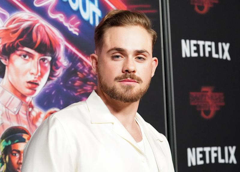 """Australian actor and """"Stranger Things"""" star Dacre Montgomery started a GoFundMe page. (Photo: Rachel Luna via Getty Images)"""