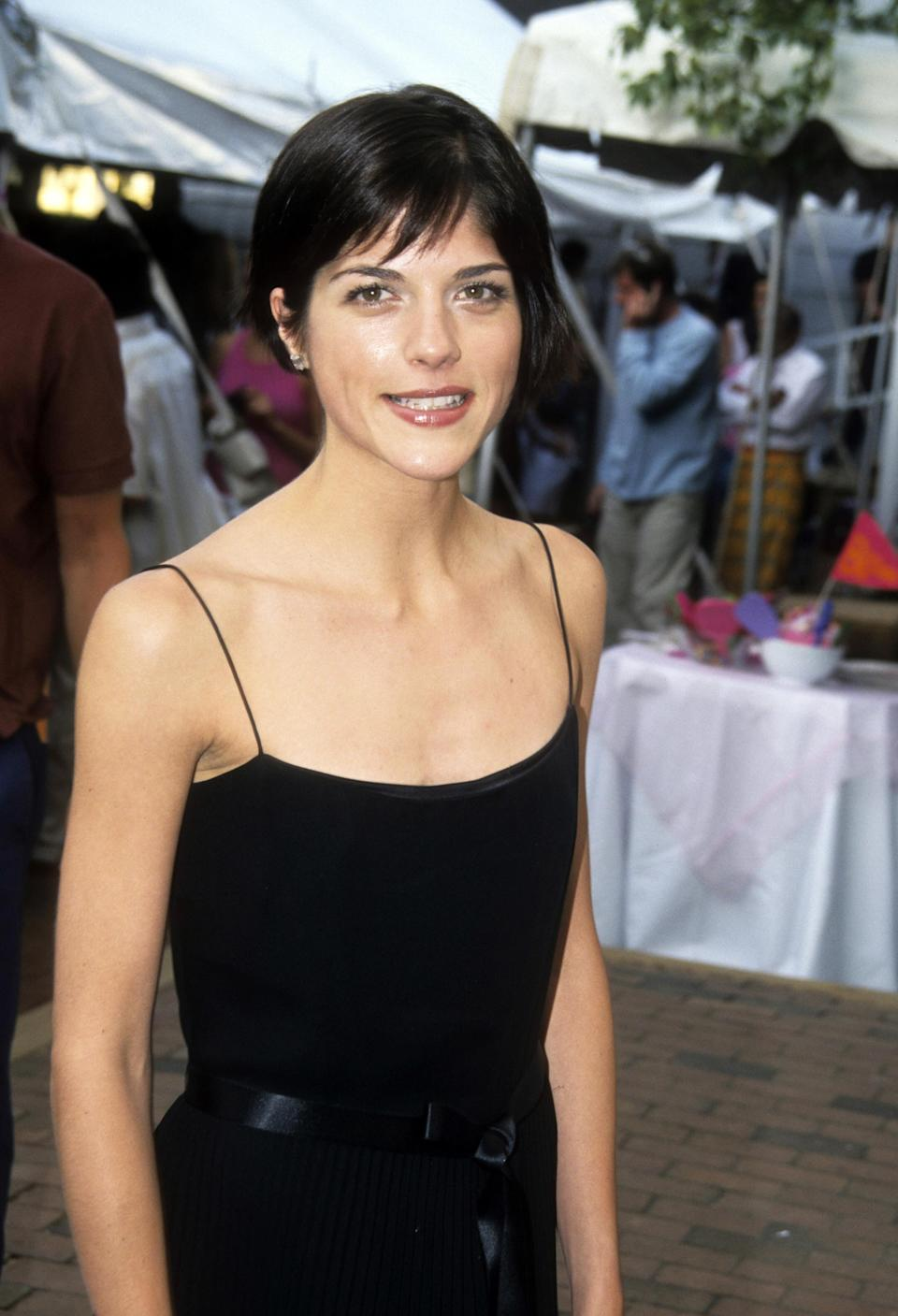 """Selma Blair at the premiere of """"Legally Blonde"""""""