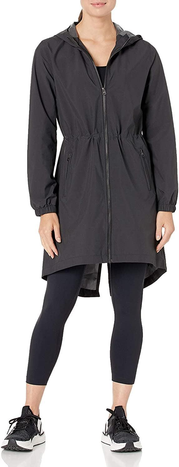 <p>When temperatures dip or weather acts up, reach for this <span>Core 10 Lightweight Water-Resistant Woven Rain Trench Jacket</span> ($42).</p>