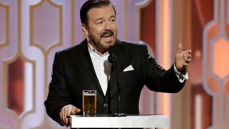 Ricky Gervais Says Hosting Next Year's Golden Globes Is 'Never Gonna Happen'