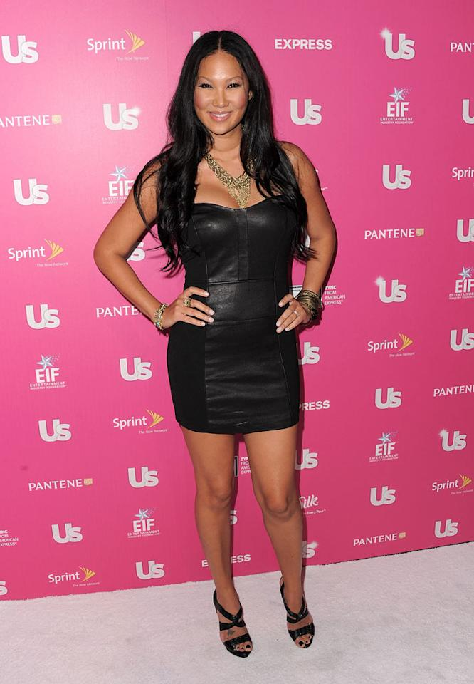 """You'd never know Kimora Lee Simmons was a mother of three in the sexy minidress she donned for the event. Later, she tweeted about catching up with Chris. """"Saw @chrisbrown 2nite, rubbed his cheek+told him 2 b good! Lol!"""" Jordan Strauss/<a href=""""http://www.wireimage.com"""" target=""""new"""">WireImage.com</a> - November 19, 2010"""
