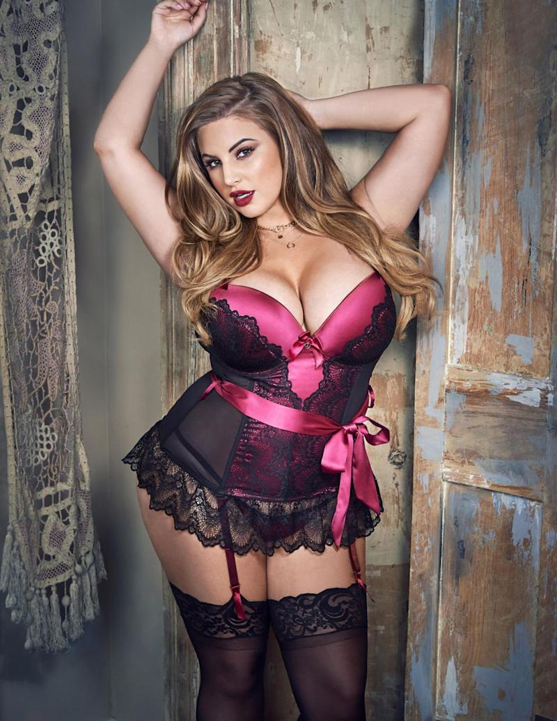 Ashley Alexiss stars in the new Lovehoney Lingerie campaign. (Photo courtesy of Lovehoney Lingerie)