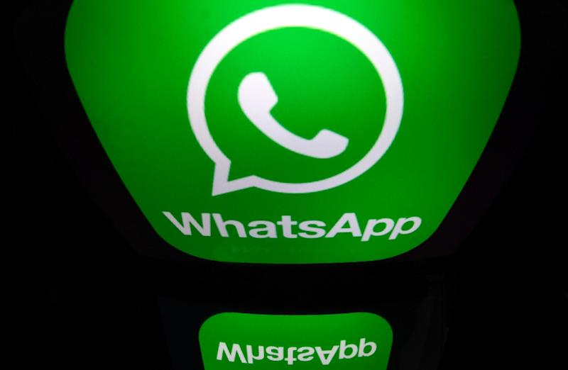 Under Facebook's plan, a digital wallet could store its new Libra cryptocurrency and allow transfers and payments through its messaging application WhatsApp (AFP Photo/Lionel BONAVENTURE)