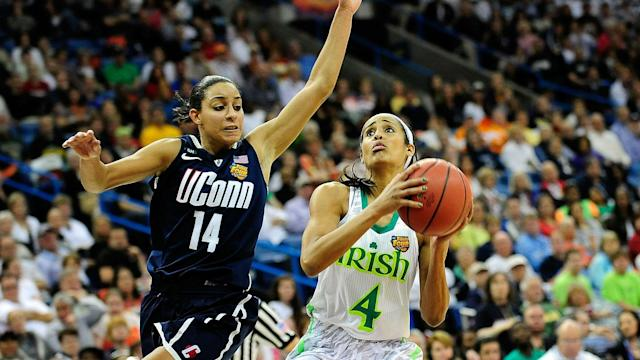 Diggins thinks UConn's success has been good for women's basketball.