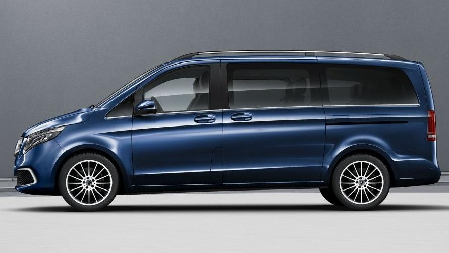 Priced at Rs 1.10 crore, the V-Class Elite is the flagship Mercedes MPV.