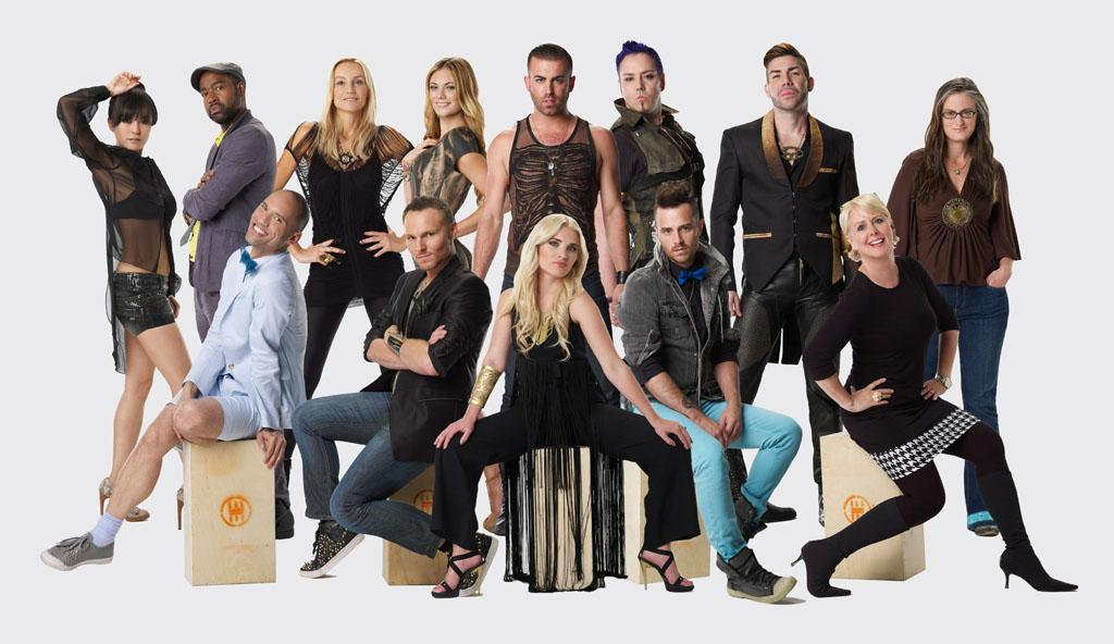 "The cast of ""Project Runway All Stars"" Season 2."