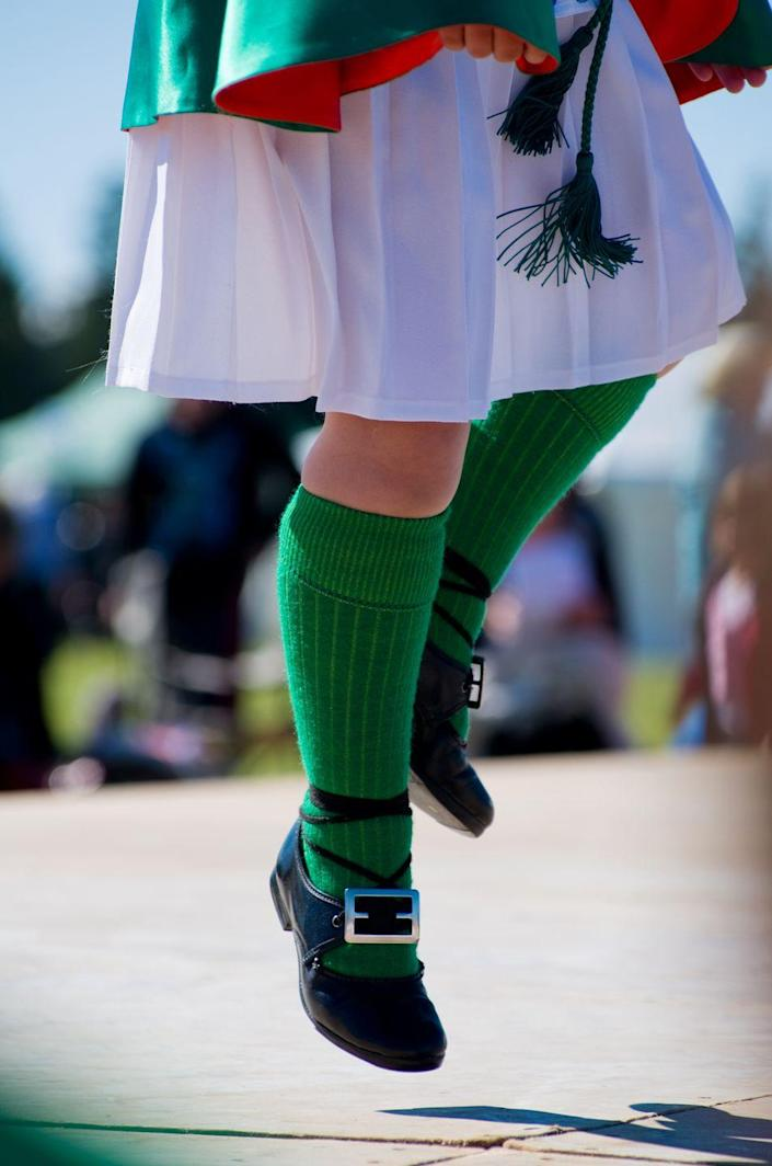 <p>Another great way to immerse yourself in Irish culture — and try something new — is to learn some Irish dancing. Try out the jig or the traditional stepdance by watching an online video or attending a virtual class! <br></p>
