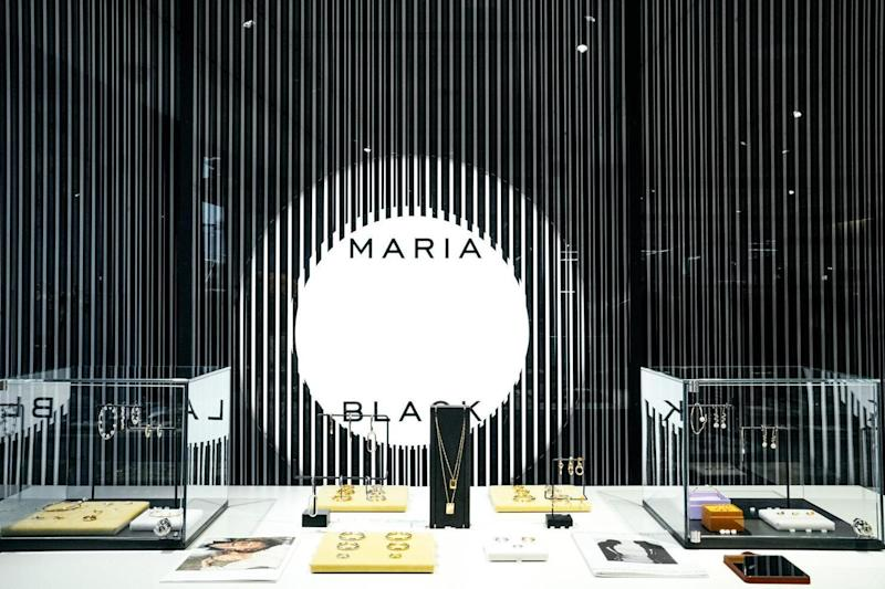 Maria Black piercing studio in Selfridges