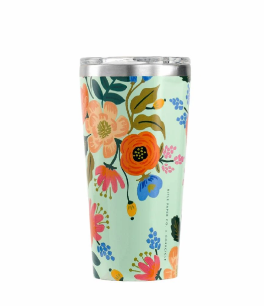 Corkcicle Tumbler Rifle Paper Co. Lively Floral. Image via Well.ca.