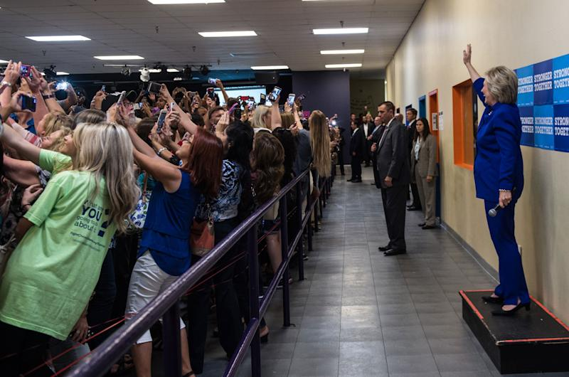 The Story Behind Hillary Clinton's Epic Group Selfie