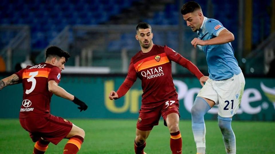 Spinazzola e Ibanez   FILIPPO MONTEFORTE/Getty Images